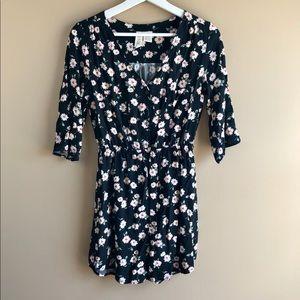 Mimi Chica Black Floral Dress Size S